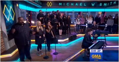 Michael performs on ABC Good Morning America