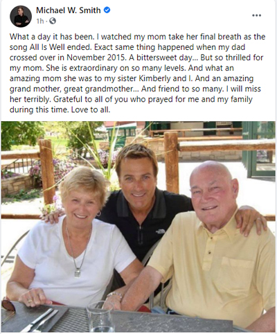 Michael W. Smith Official Facebook Page