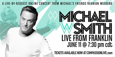 Michael W. Smith Special Online Concert