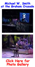 Michael W. Smith at Billy Graham Crusade Photo Gallery