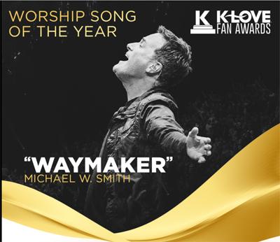 Michael W. Smith K-LOVE Award Win For Waymaker