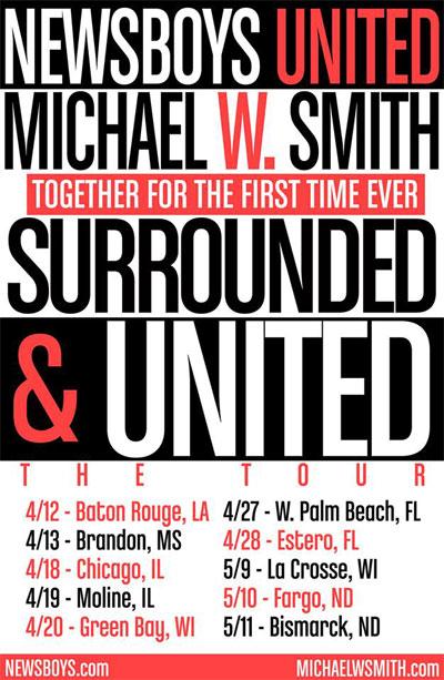 Christmas Roadshow Tour 2021 Texas Michael W Smith Concert Tour Date Information