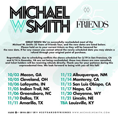 35 Years of Friends Concert Tour